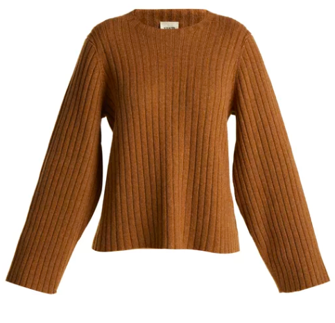 Matches Fashion cashmere jumper . Affordable cashmere version  here