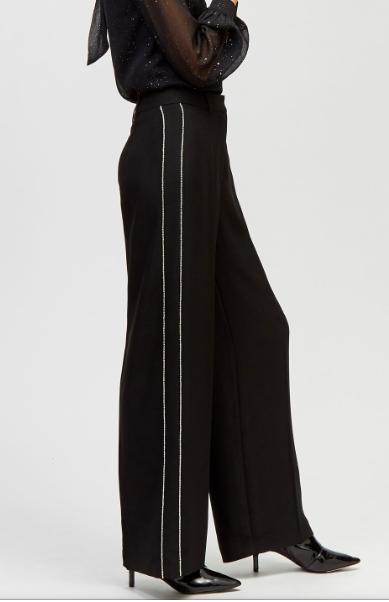Warehouse diamante wide legged trouser