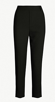 Vince satin side stripe trouser with drawstring waist