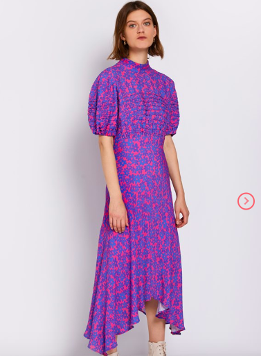 Ghost London Jenna Dress - wear with chunky boots or even cowboy boots would work.