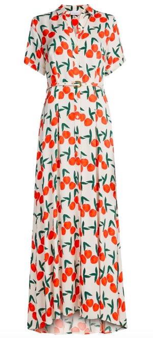Fabiene Chapot Peach Print Dress