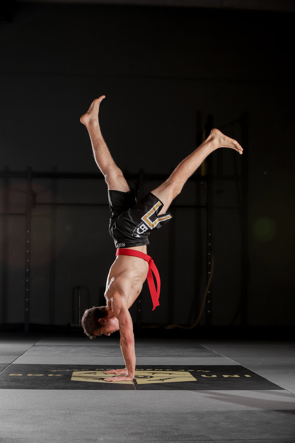 Budokon Movement Henry the Newman Handstand Split Leg