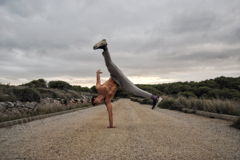 Budokon Movement Henry the Newman One Arm Handstand Cartwheel