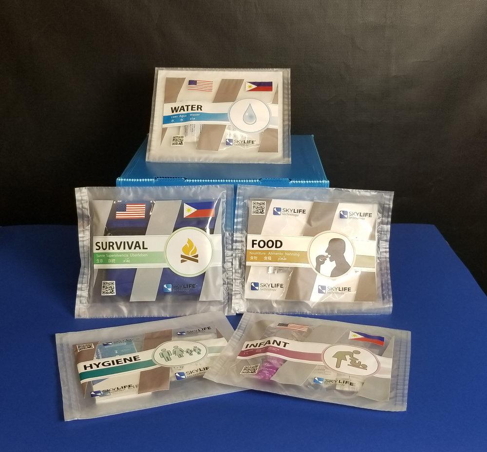 SkyPACKS     Individual Aid Packs