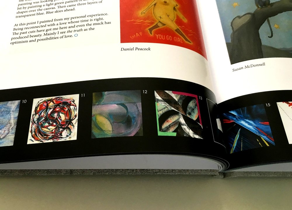 "Circle of Truth exhibition catalog. ""Crawl' detail."