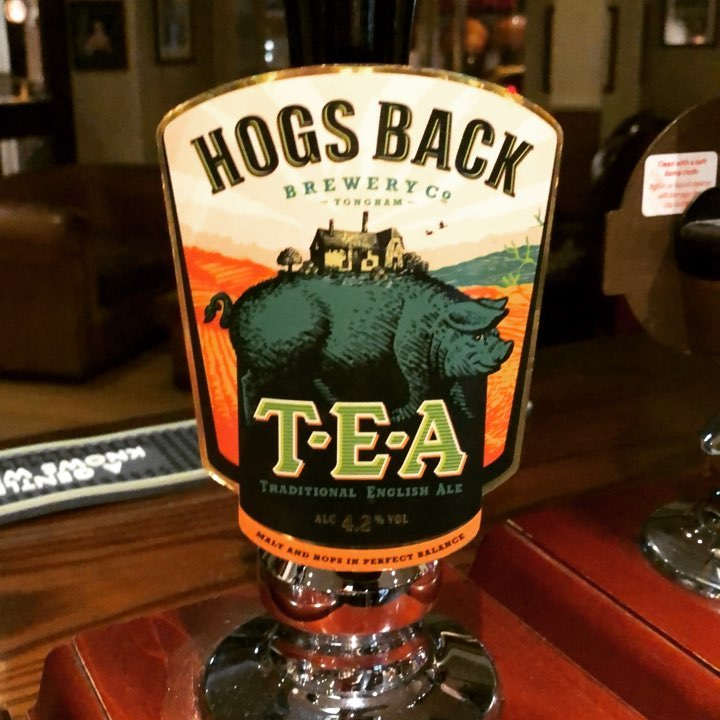 Time for tea. Traditional English Ale.