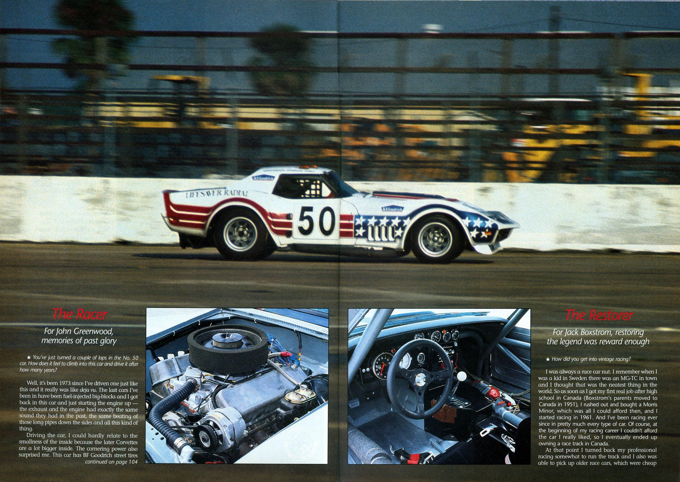 Corvette Fever July 1991: The Stars And Stripes Fly Again — Corvette
