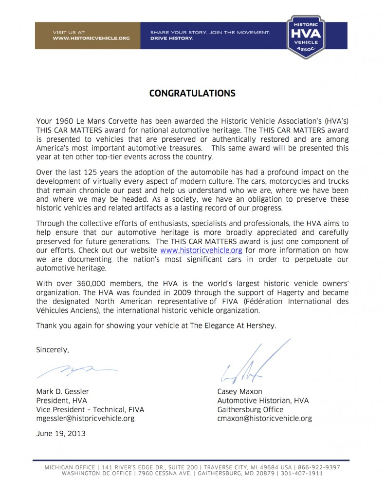 TCM Award_June 2013