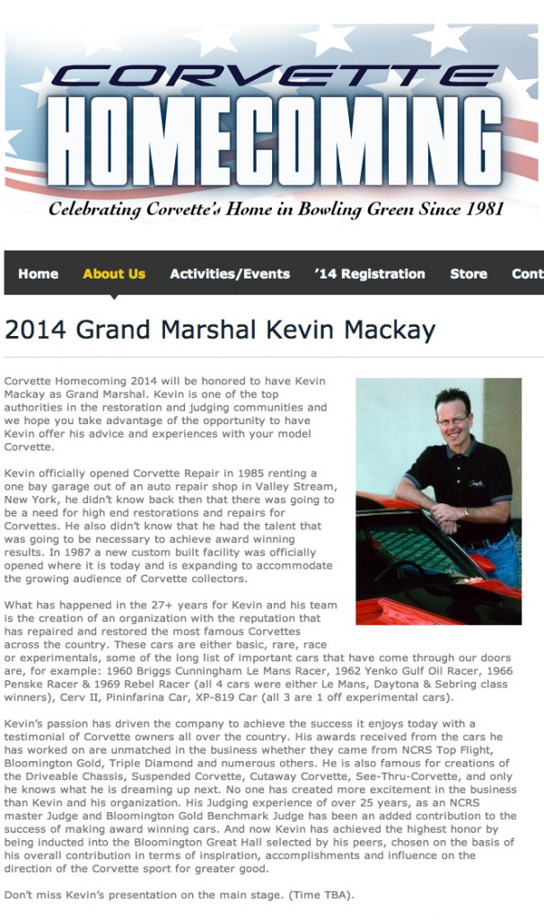 2014 Grand Marshall
