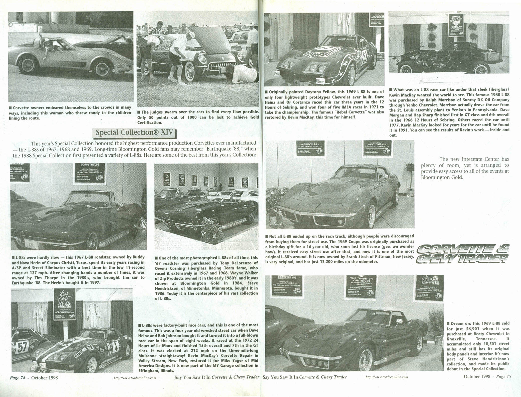 Corvette & Chevy Trader October 1998: Special Collection XIV