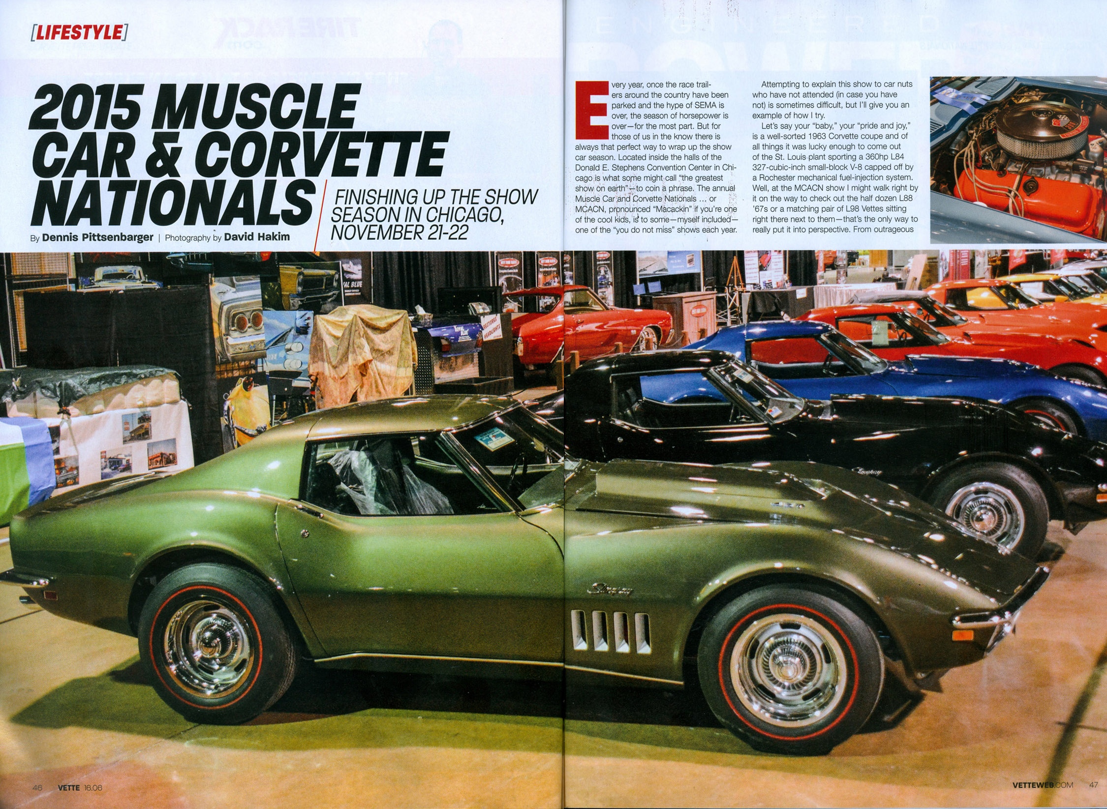 Vette Magazine June 2016 2015 Muscle Car Corvette Nationals