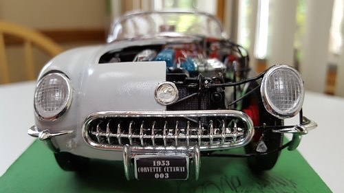 Model of the 1953 Corvette Cutaway 003 by Peter Lombardo