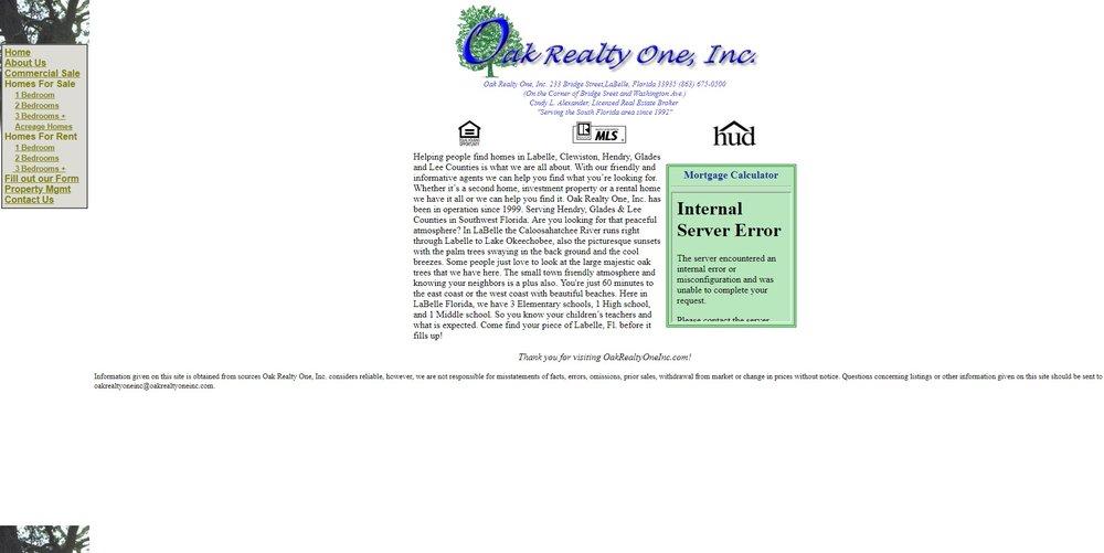 Oak Realty One, Inc.