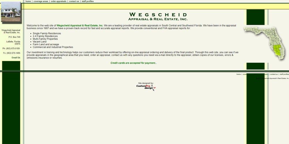 Wegschield Appraisal & Real Estate, Inc.
