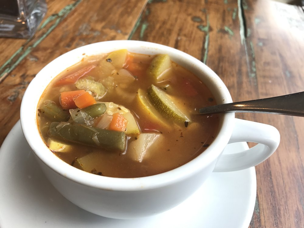Homemade Batavia Vegetable Soup