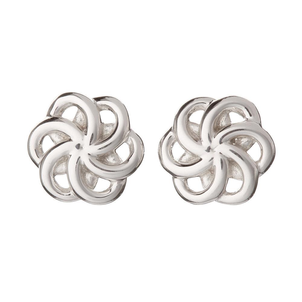 Faith Silver Earings