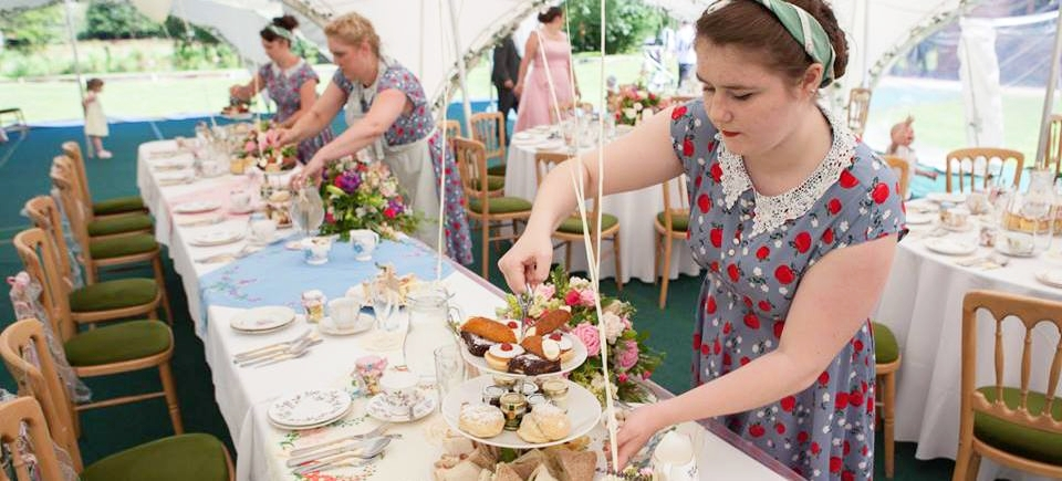 Vintage Afternoon Tea Wedding