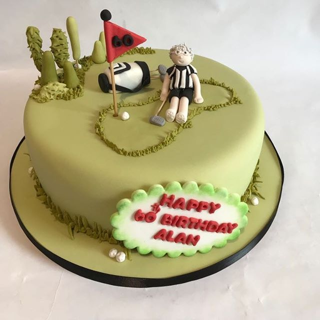 A birthday cake made for a golfer #tearooms #york  #cake  #cakes #baking  #coffee  #tea #foodie  #instgood #instacake  #catering #yorkshire #homemade #cakery #baking  #vintage  #vintagetearoom #bake #food  #independent  #instafood #foodpics #local #cakesd #freshfromtheoven #golf #birthdaycake #green