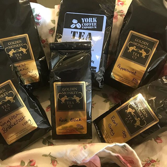 We also sell our loose tea leaves, what's your favourite tea? #tearooms #york  #cake  #cakes #baking  #coffee  #tea #foodie  #instgood #instacake  #catering #yorkshire #homemade #cakery #baking  #vintage  #vintagetearoom #bake #food  #independent  #instafood #foodpics #local #cakesd #freshfromtheoven #tea #tealeaves