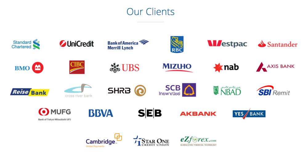 List of some of Ripple's Clients  (Image Credit -    XRPchat   )