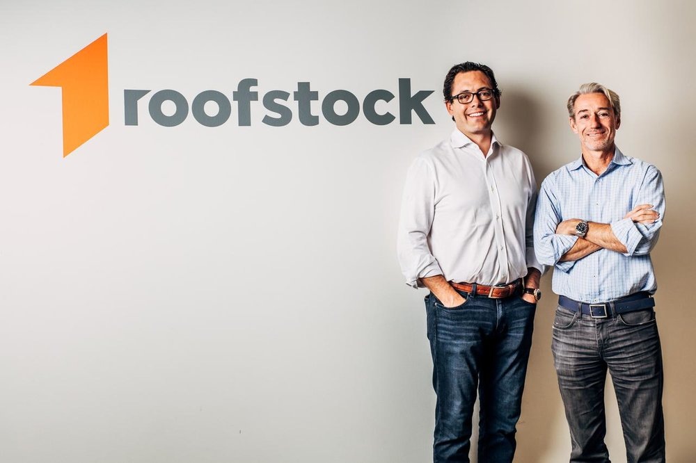 Roofstock Founders, Gregor Watson and Gary Beasley ( Image Credit -    Reuters  )
