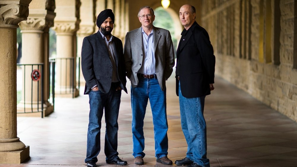 Founders of Ayasdi, Gurjeet Singh, Gunnar Carlsson, and Harlan Sexton ( Image Credit -    Silicon Angle  )