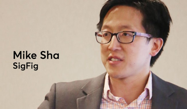 SigFig CEO and Founder, Mike Sha (Image Credit -  American Banker )
