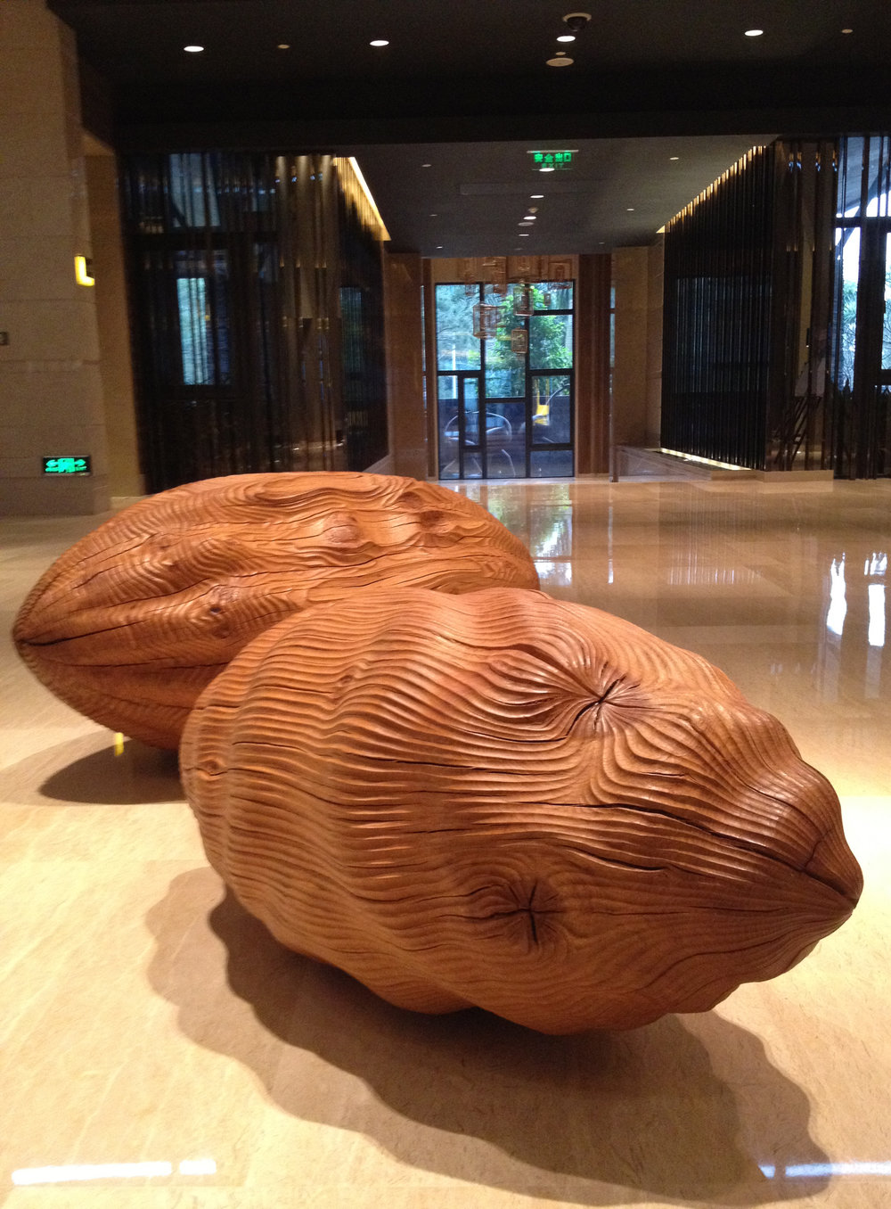 Mapping and Pod I (2012) . The Sheraton Resort Hotel, Guangzhou, China