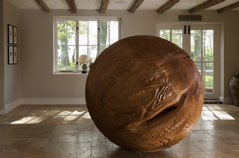 Inner Sphere (2015) . Private collection, UK. Photo: Jacqui Hurst