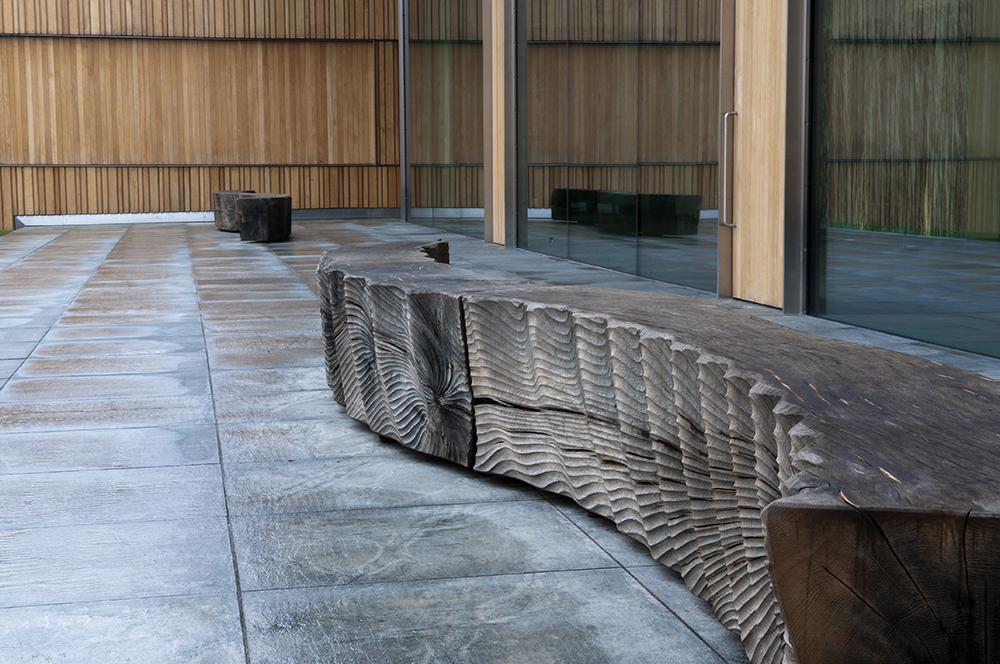 Rolling Benches (2013).  The Rothschild Foundation, Waddesden, UK. Photo: Jacqui Hurst