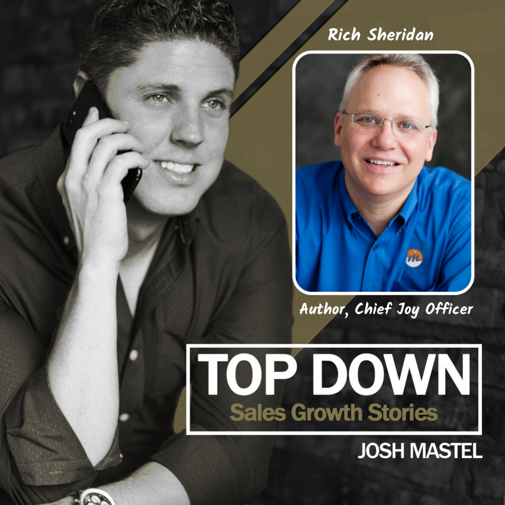 """The """"Chief Joy Officer"""" - With CEO and Author, rich sheridan"""
