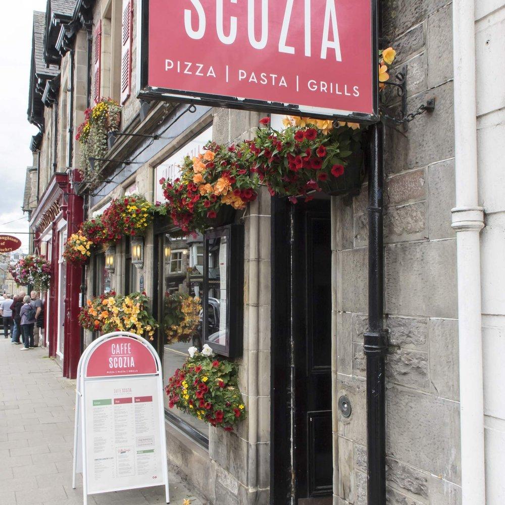 Caffe Scozia - PIZZA | PASTA | GRILLS