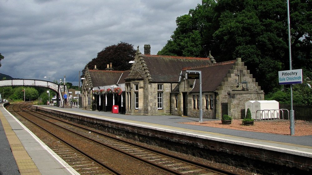 Pitlochry Train Station -
