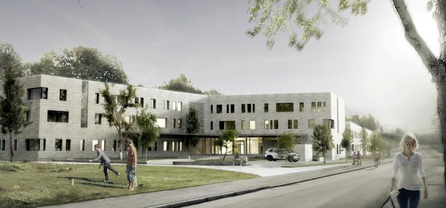 DPS Mortensrud Psykriatriske sykehus - Oppdragsgiver: Betongmast Bygg AS Verdi: 19 200 000