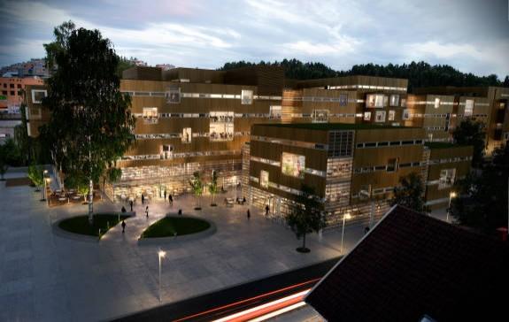 Sanvika business senter - Oppdragsgiver: Strukta ASKontorsenter i Sandvika sentrum. Bestående av to nybygg på tilsammen 25.000 m2Vår entreprise: Sanitær, varme, kjøling og sprinklerEntrepriseverdi: 15.000 000