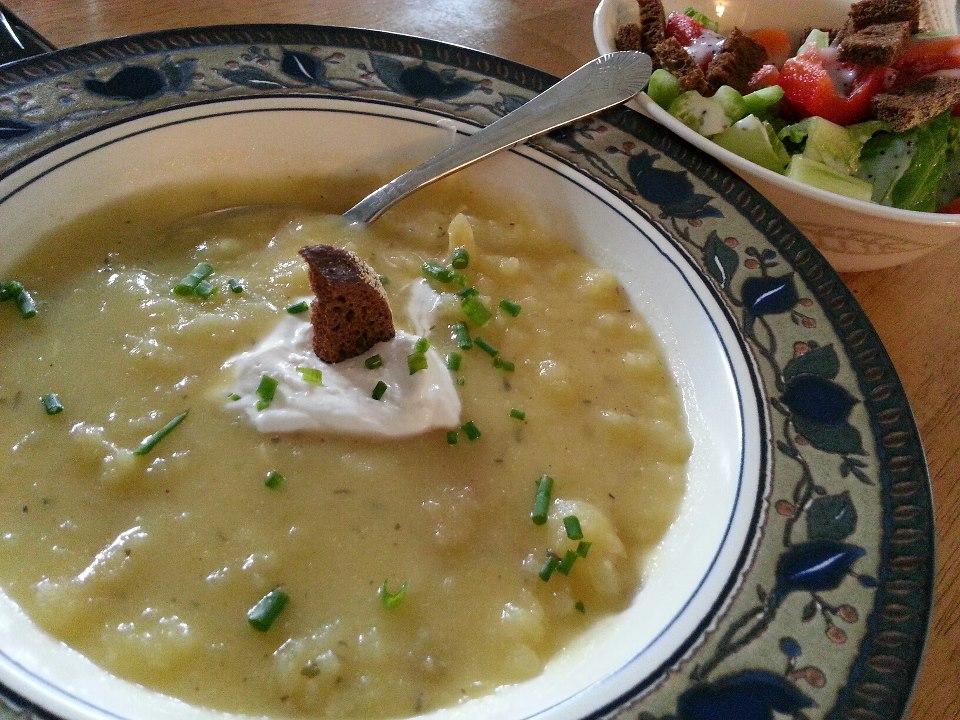 Crock-Pot potato soup