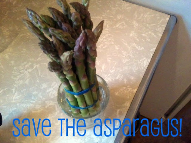 save the asparagus