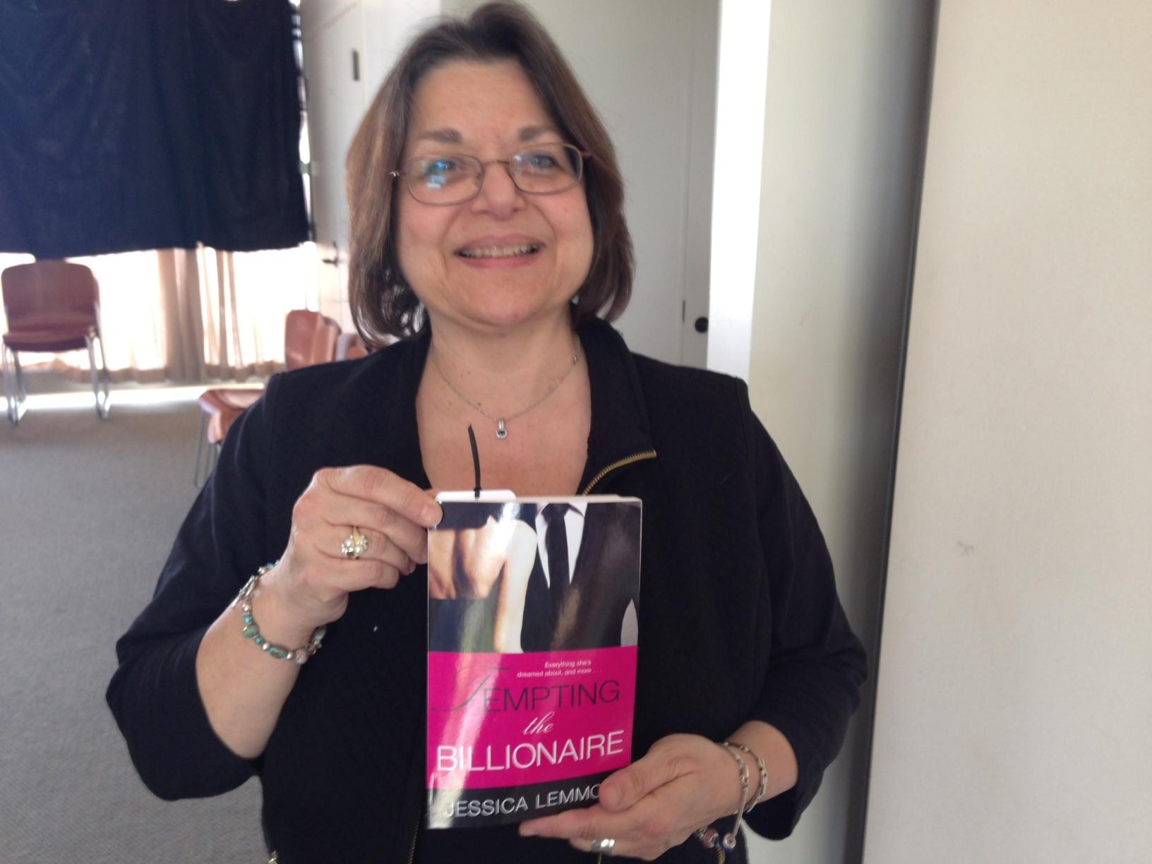 One of the ARC winners, Sandy Pennington!