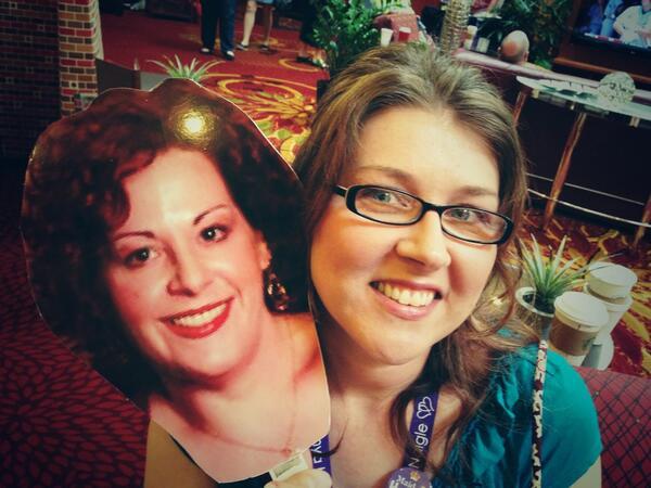 RAGT with Heidi Betts head