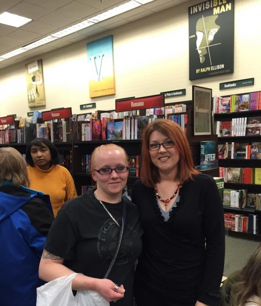 BN Signing with Amber Johnson reader 2.14.15