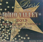 Dr. Blank Voted Best Podiatrist of the Ohio Valley for the 12th Year
