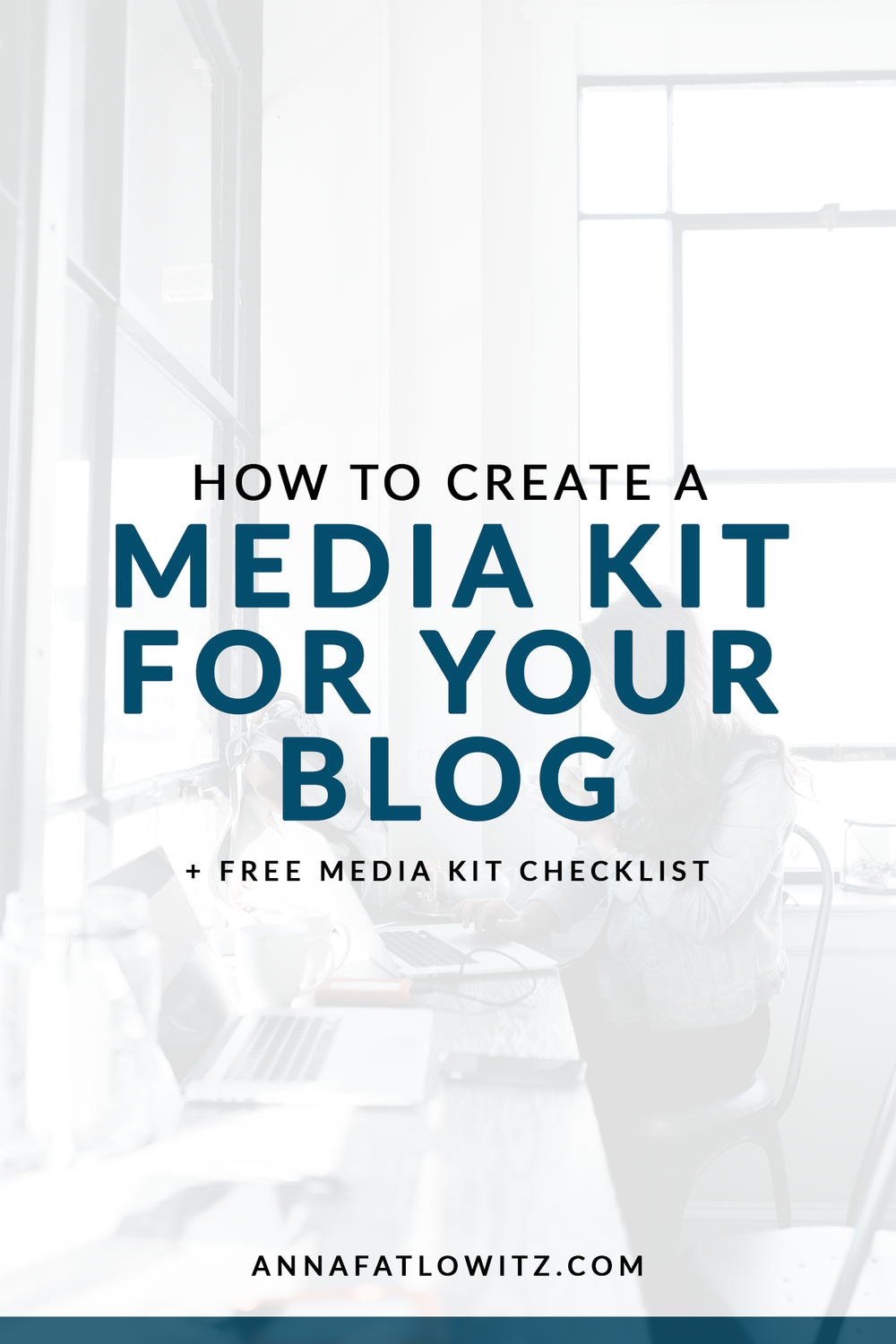Ever wondered what to put on your media kit? Here's all the info you need and what program to make your media kit in.