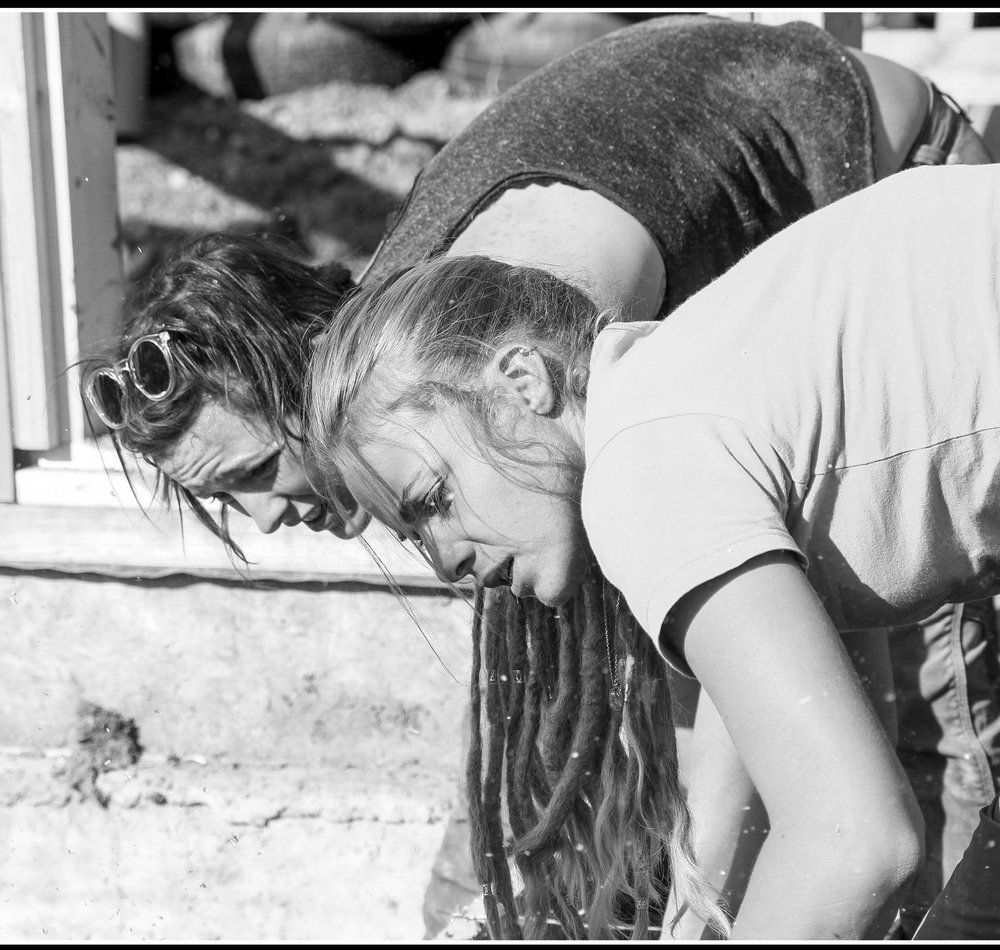 Agate and Jeane - Agate (FOUNDER): Agate has been studying in two London universities and has a degree in International Development and a master in Education and Sustainability. She has been working for Earthship since several years and decided to start and finance this project.Jeane (LOGISTC MANAGER): Jeanne Jeane has worked for Earthship and in traditional construction for more than 10 years and she is a great builder and teacher. Jeane has organised and participated to poverty and disaster relief projects all over the World.