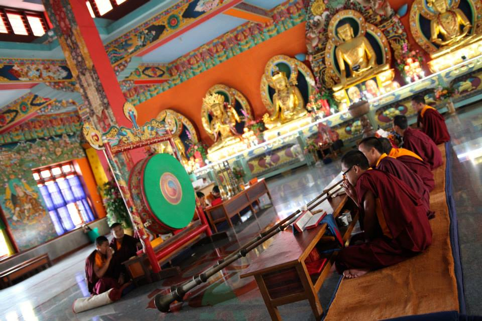Young Tibetan Monks (Bylakuppe, India, 2016)