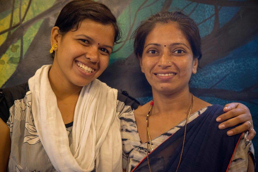 Komal and Sonam