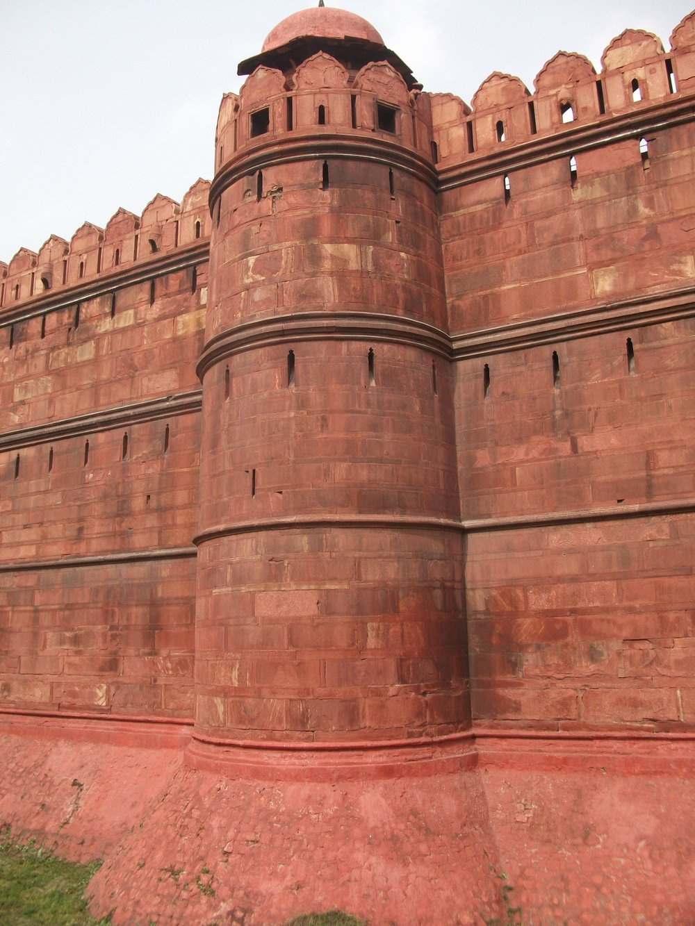 Walls of the Red Fort