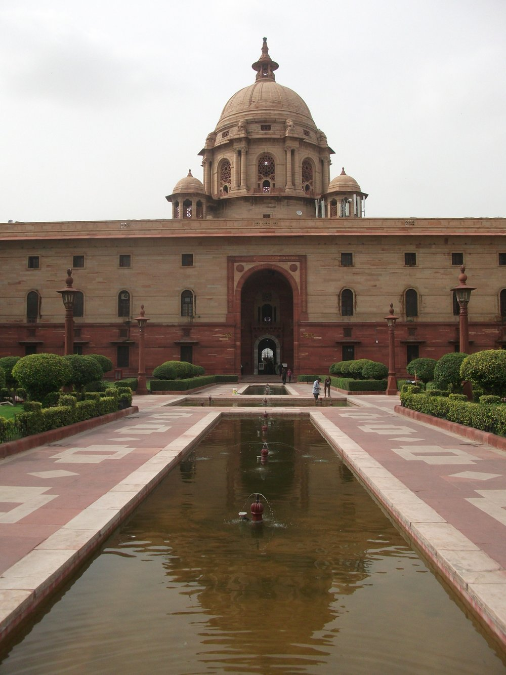 Ministry Building, near The Rashtrapati Bhavan (The Presidents Residence)