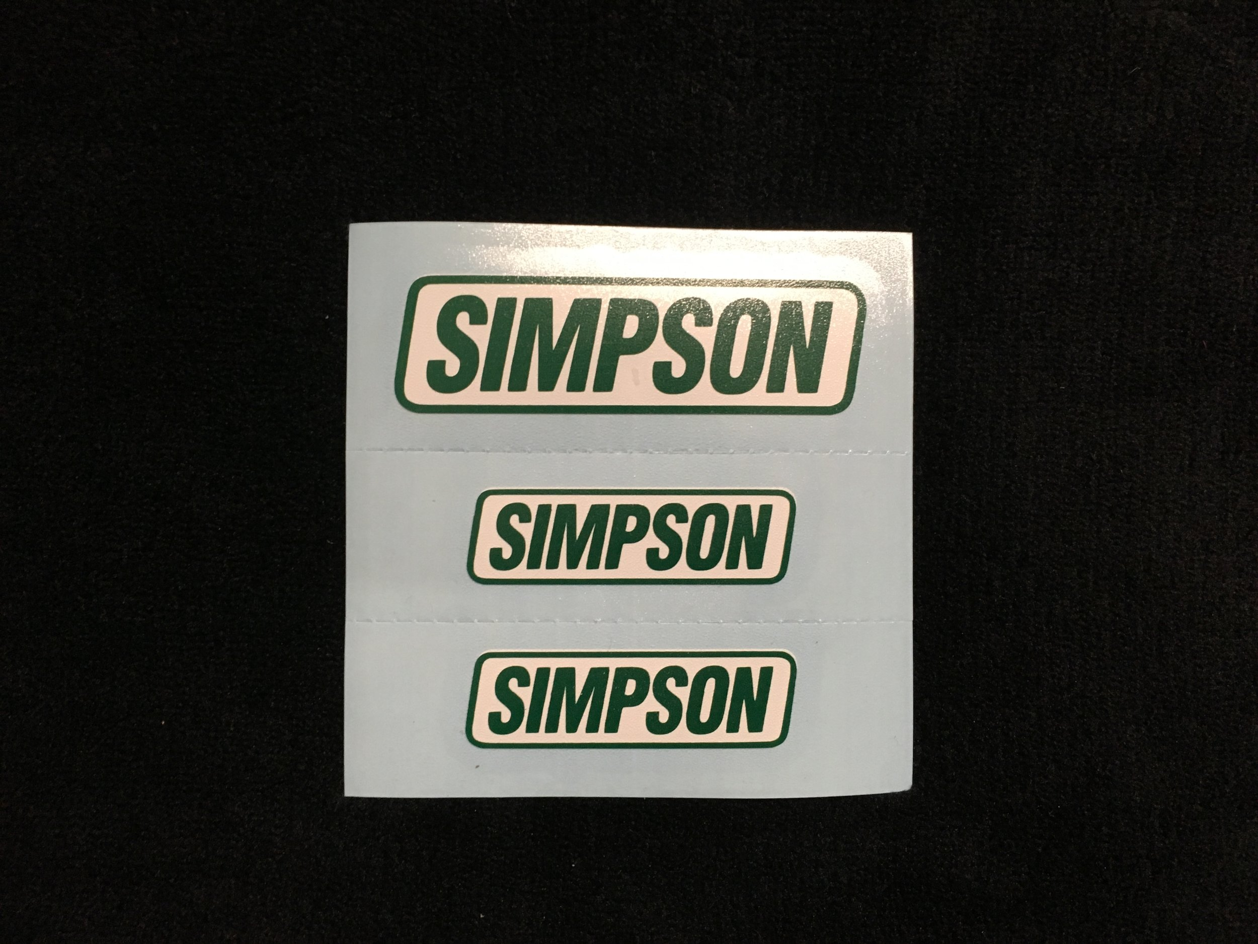 Simpson Green & White