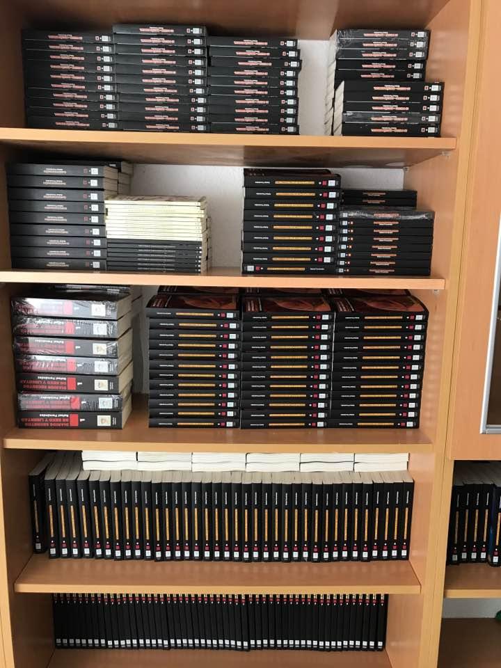 Todos mis libros los tengo listos para ti. Compra y te los envío inmediatamente.