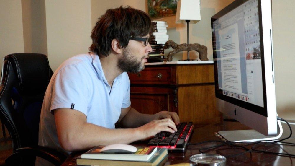Este soy yo: haciendo lo que más me gusta hacer.